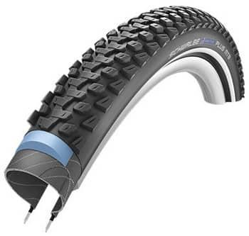 Der Schwalbe Marathon Plus Reifen in der MTB Variante