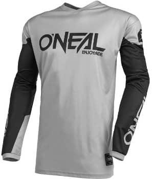 MTB Trikot von O'Neal: Weiter geschnitten in grau und schwarz