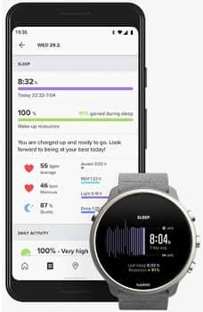 Suuntos smarte Sportuhr mit Smartphonenanbindung