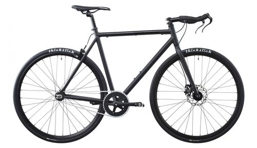 Schwarzes Singlespeed Bike