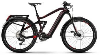 Kommt in schwarz: Das SUV E-Bike HAIBIKE Adventr FS